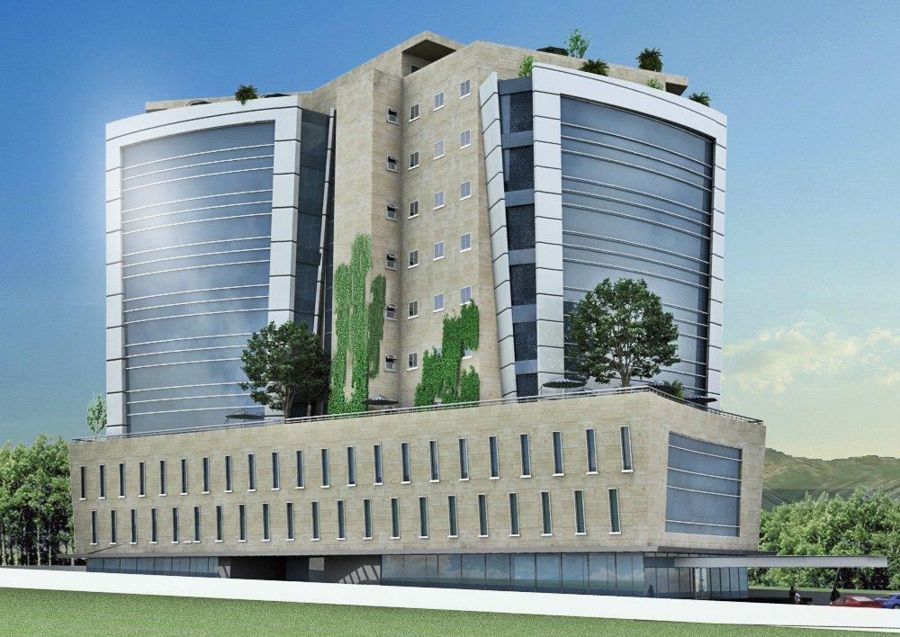 Front Elevation Of Industrial Building : Noor durrani associates private power infrastructure